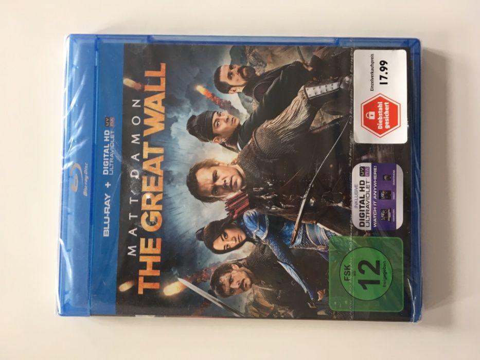 THE GREAT WALL Matt Damon film original Blueray disc DVD engleza