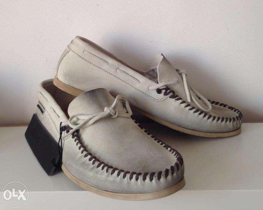 scarpi din piele intoarsa