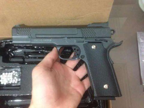 Pistol Arc Pusca +BONUS airsoft (PUTERNIC) Full Metal *ARMARE MANUALA*