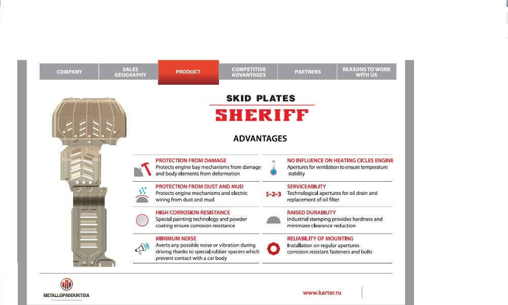 Scut motor SHERIFF - GREAT WALL Deer, Florid, Hover, Wingle, Safe, Suv