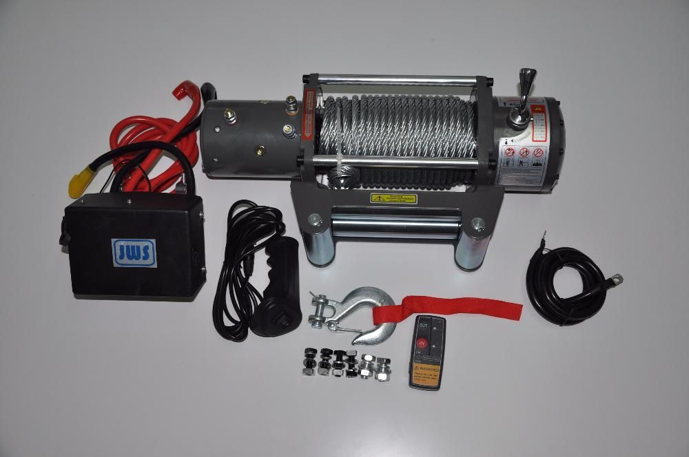 Troliu auto electric 12 v 13000 lbs 5.9 t