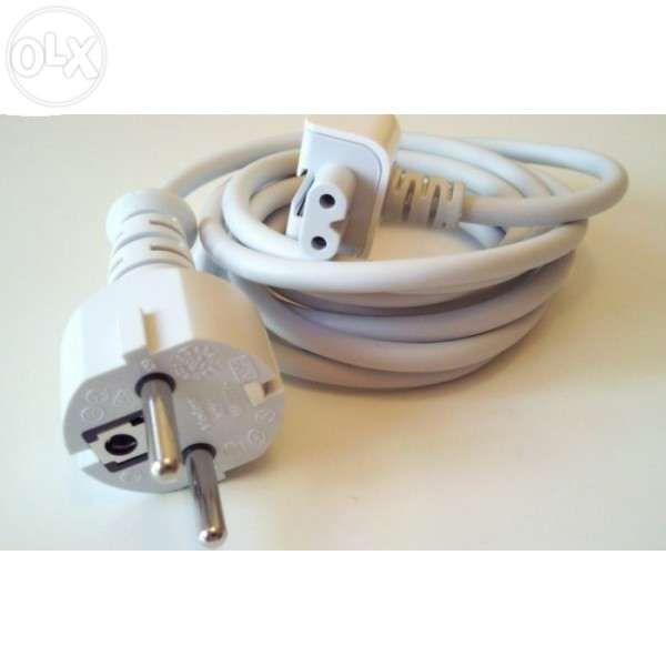 Prelungitor Cablu Tensiune cu Adaptor priza EU pt. incarcator Apple Ma