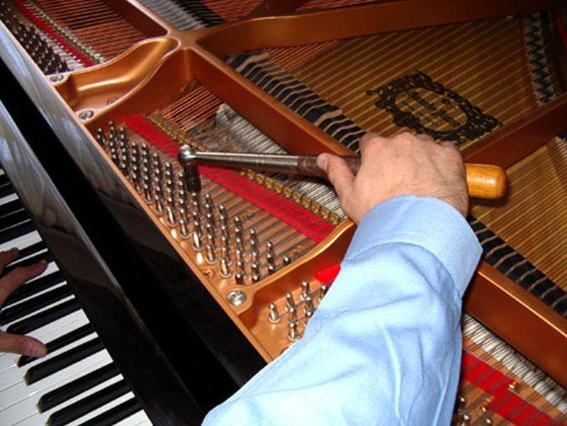 настройка и ремонт пианино,фортепиано и роялей