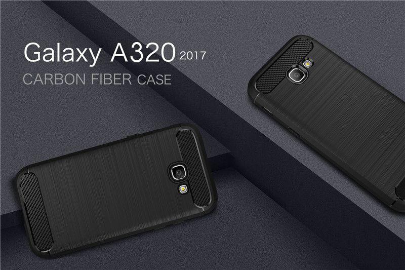RUGGED ARMOR силиконов кейс за Samsung Galaxy A3 2017 - A320