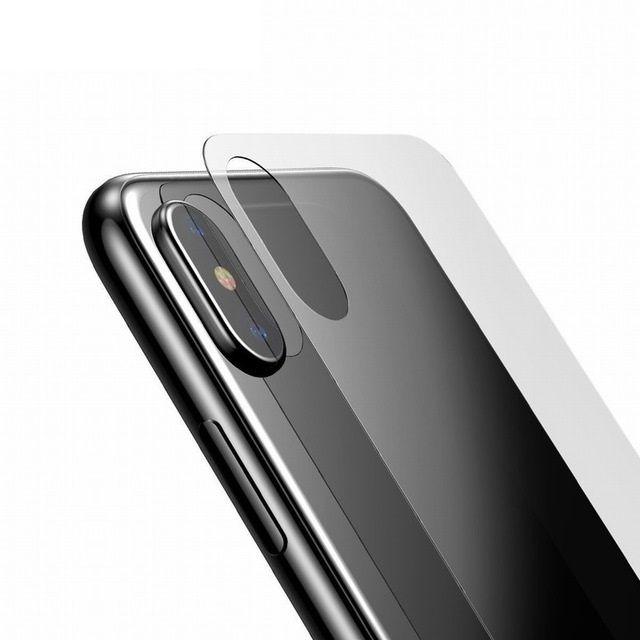 Iphone X XS 10 - Folie Sticla Securizata 3D Transparenta Pentru Spate