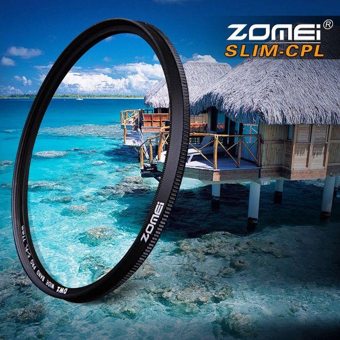 Filtru polarizare circulara Zomei Ultra-Slim 49/52/55/62/67/72/77/82mm