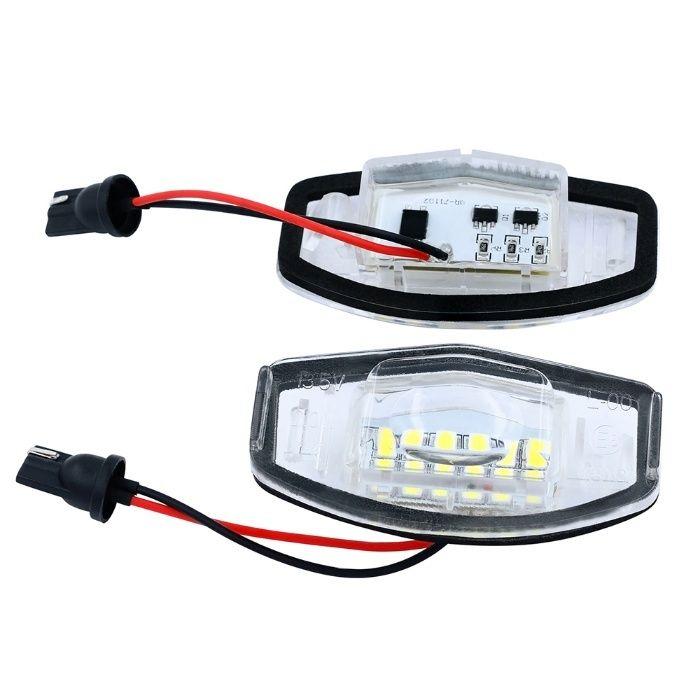 Lampi numar LED pentru Honda Accord , Civic Sedan / Hatchback,set 2bc