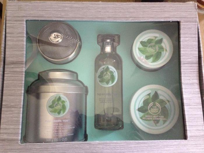 Комплект Body Shop Зелен чай