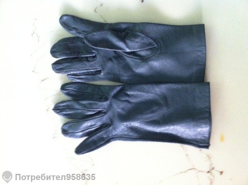 дамски ръкавици естествена кожа