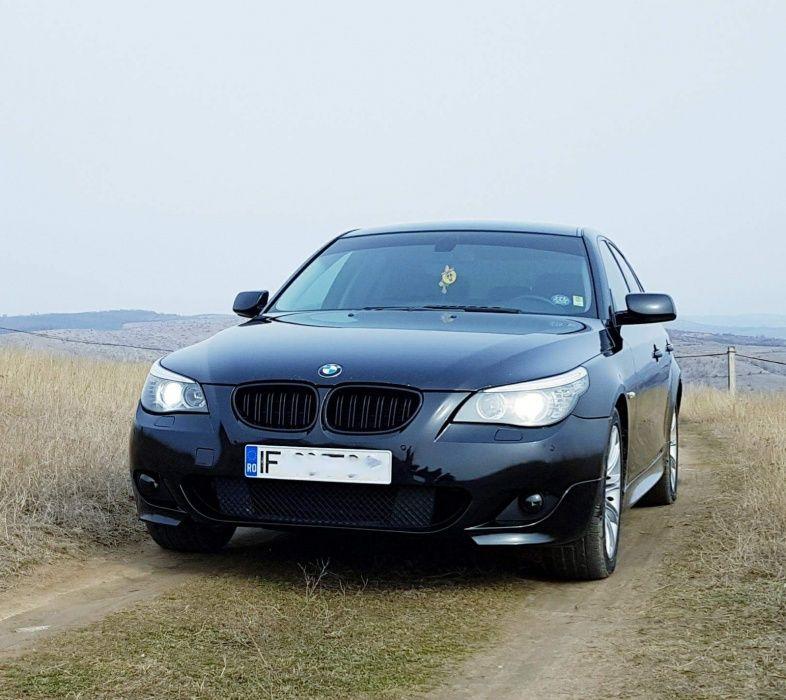 Grile duble BMW seria 5 E60 E61 M5 look - negru LUCIOS Timisoara - imagine 8
