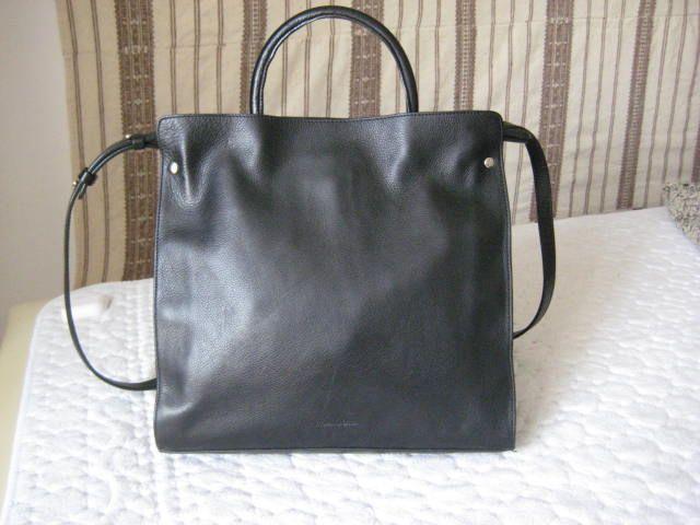 vand geanta dame, noua, piele,neagra, Massimo Dutti, 400 lei