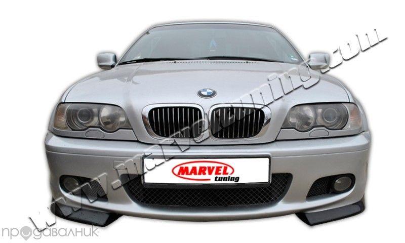 сплитери (тунинг добавки) за предна броня Мтехник за BMW E46 / Бмв Е46