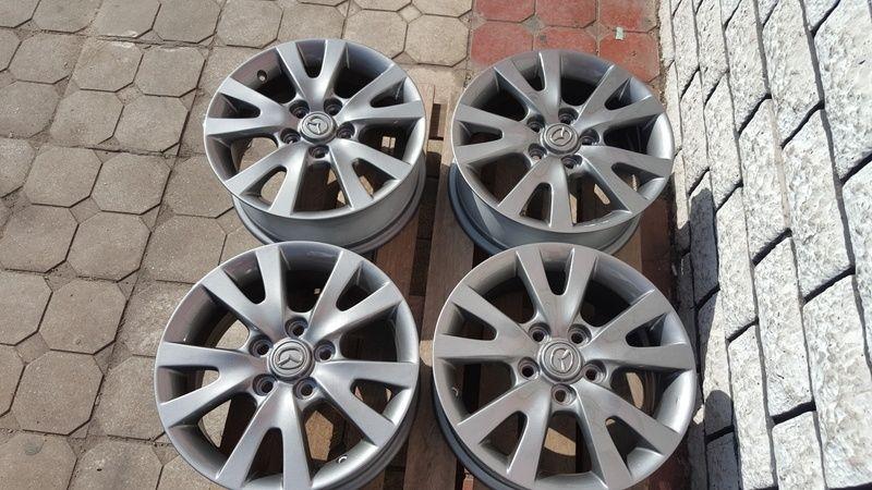 Jante Mazda 3 6.5x16 et 52.5 5x114,3 Oradea - imagine 3