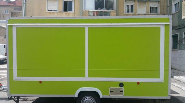 Roulote Snack Bar Pronta a Trabalhar