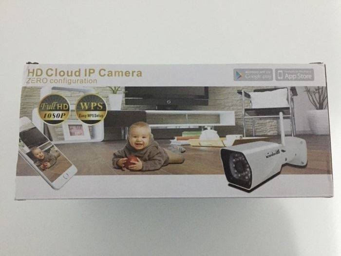 IP Full HD WIFI External Camera