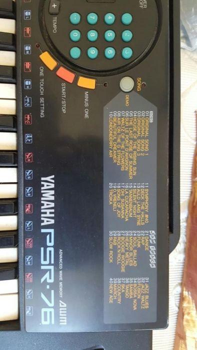 Orga Yamaha PSR 76
