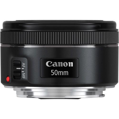 Vendo Lente Canon EF 50 mm f / 1.8 STM Nova na Caixa