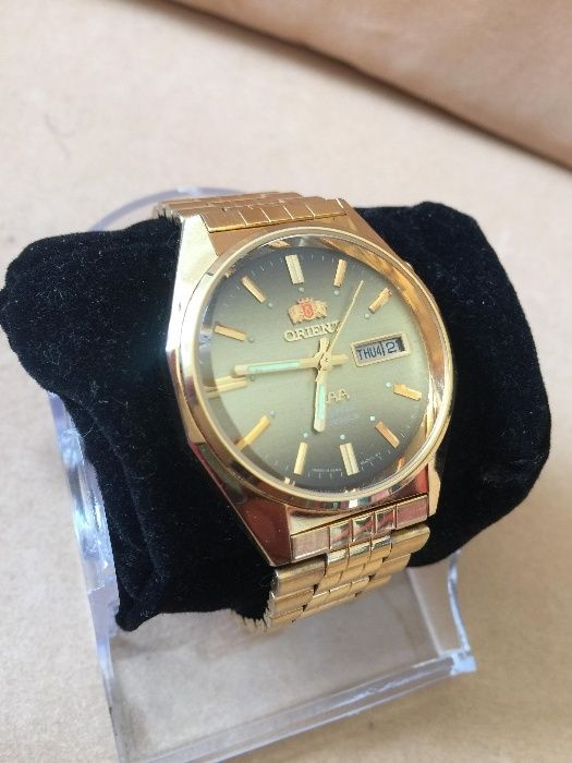 orient automatic gold