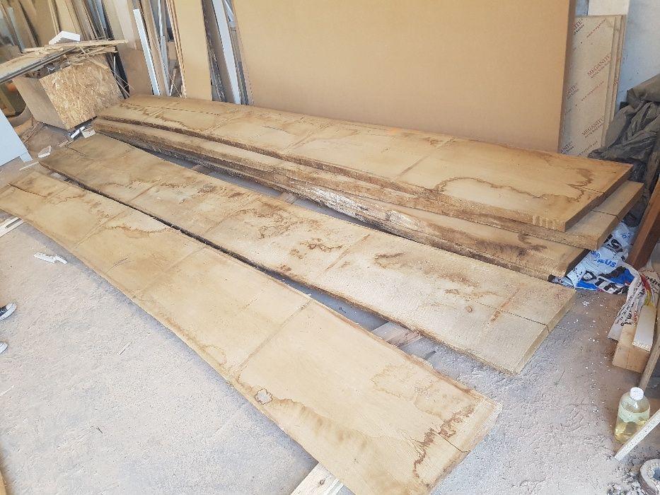 Дъбови талпи на 5 метра дължина и 52мм дебелина