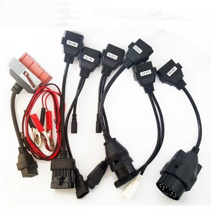 Set 8 cabluri adaptoare de masini pt AutoCom / Delphi / WoW / etc. obd