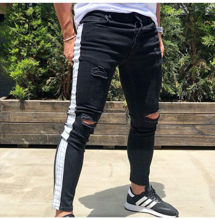 Calças Jeans c Barra