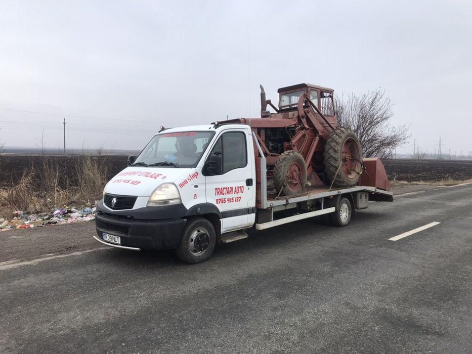 Tractari auto Rosiori de Vede, tractor , buldo, presa class, same