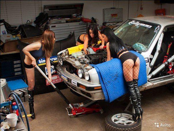 СТО оказывает услуги по ремонту автомобилей