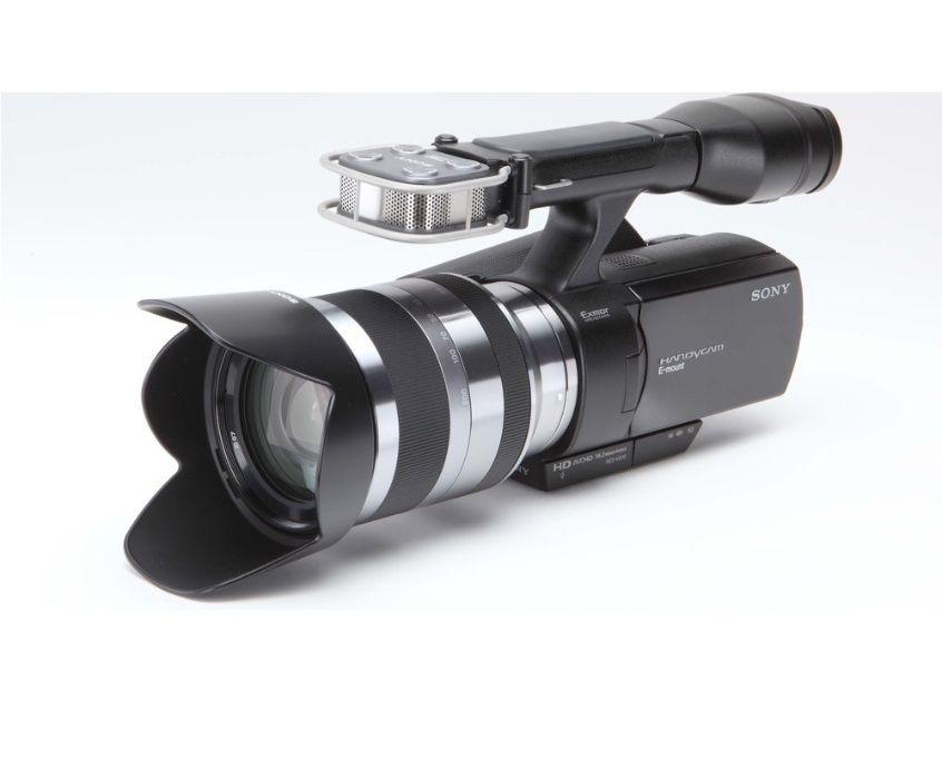 Camera video Sony NEX-VG10 + Obiectiv 18-200mm