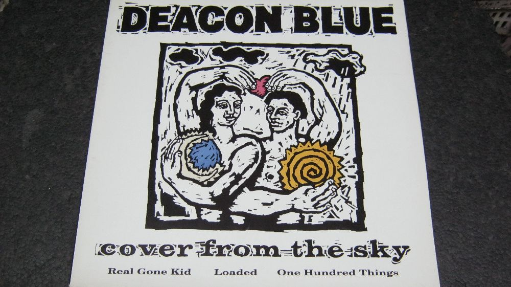 Disc vinil,Maxi,DEACON BLUE-Cover from the sky,1991.