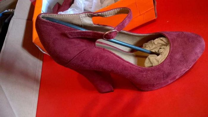 Pantofi noi, catifea, marimi 38, 39