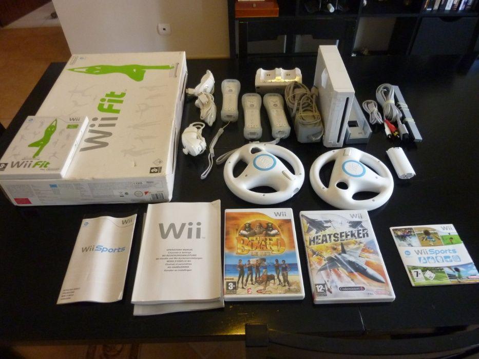 Vendo um lote da console Wii Fit