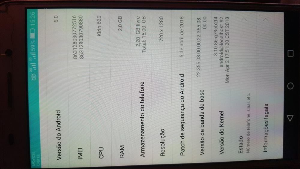HUAWEI CAM L21 16 gb