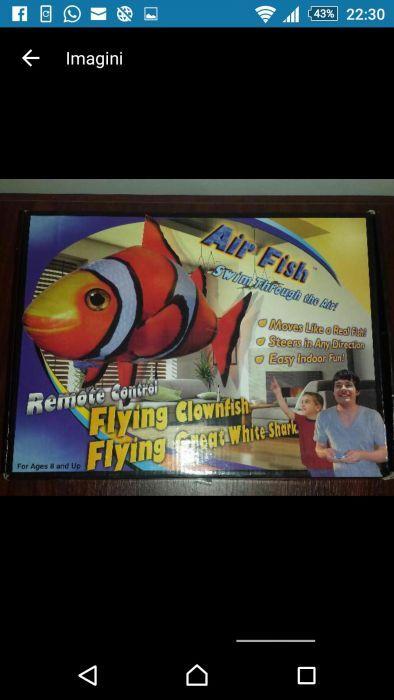 Telecomanda pește zburător si cutie