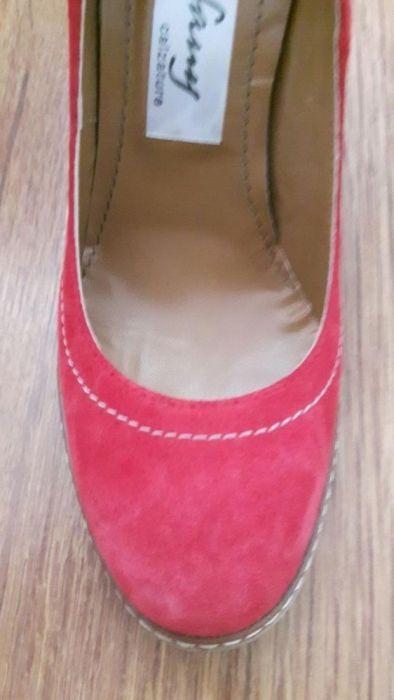 Pantofi noi piele intoarsa aramii