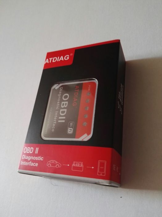 WiFi ELM327 V1.5 OBD2 адаптер за автодиагностика за iOS устройства