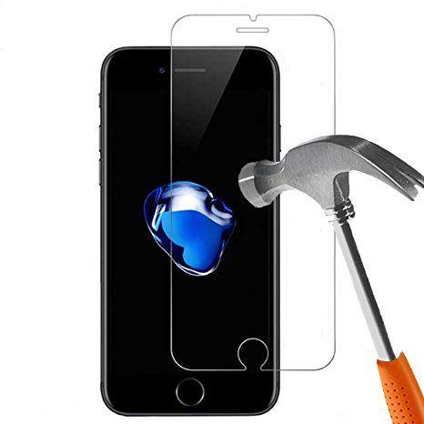 Folie sticla securizata 9H Iphone : 6 ,6S , 7, 8 -En Gros