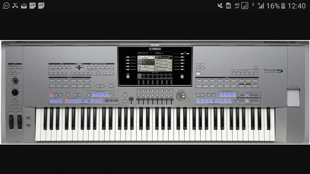 Yamaha tyros 5 76 keys, are 7 luni, RATE