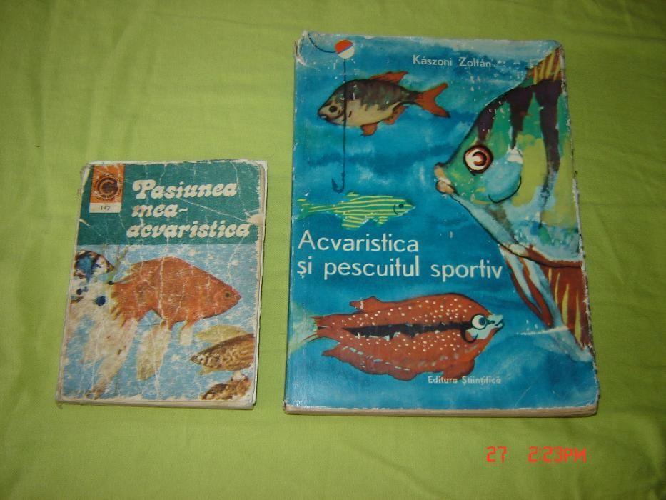 Carti Acvaristica anii 60-80