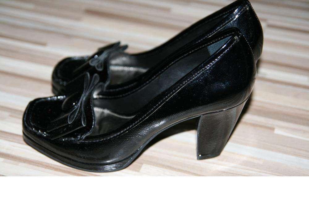 Pantofi dama piele naturala lacuita
