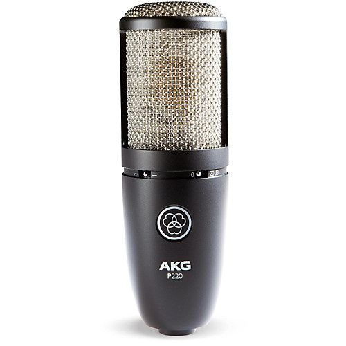 Microfone de estúdio profissional akg P220