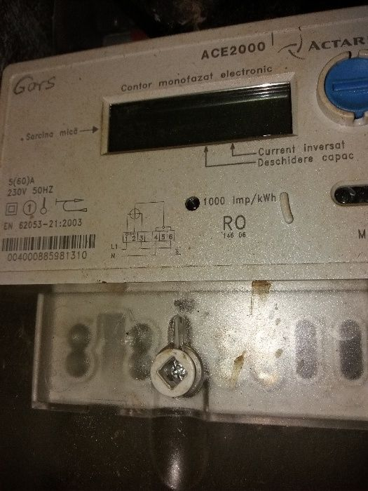 Tablou electric.contor 220 v