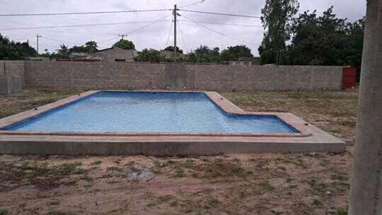 Construções de piscinas em betão