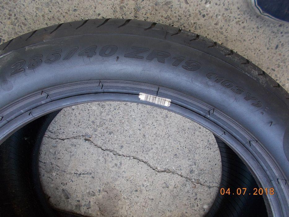 2 anvelope vara 285 40 19 NOI pirelli dot 2012 Bacau - imagine 5