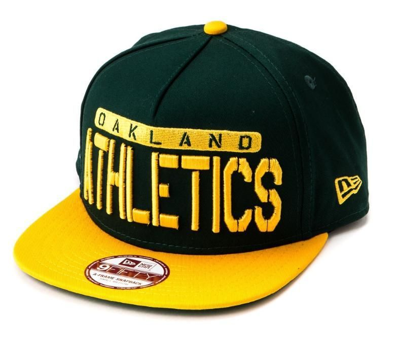 Sapca verde New Era MLB 9fifty Oakland (Masura S/M)