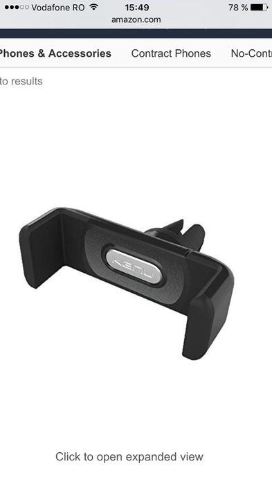 Suport telefon auto Iphone,samsung,universal grila ventilatie