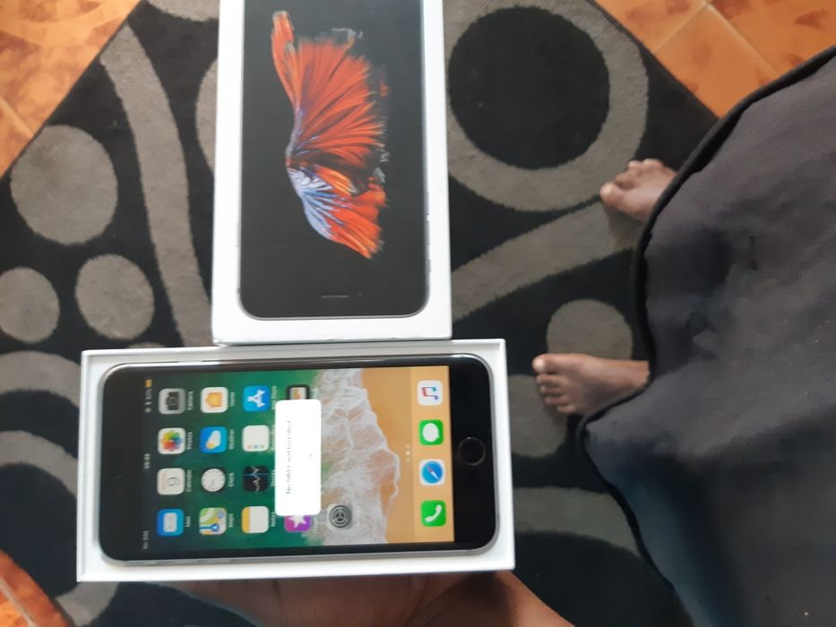 Iphone 6s pluz 64g com caixa com 3meses de uso
