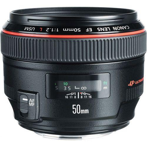 Vendo Lente Canon EF 50mm f / 1.2L USM Nova na Caixa