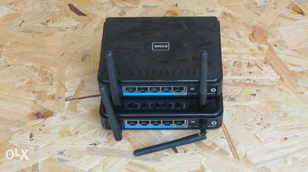 Lot 2x Router DIR-615