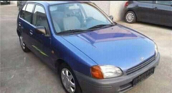 Toyota bolinha a venda.