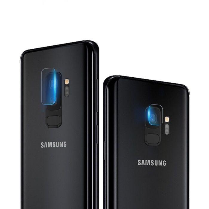 9H стъклен протектор за камера SAMSUNG GALAXY S8, S8+, S9, S9 Plus